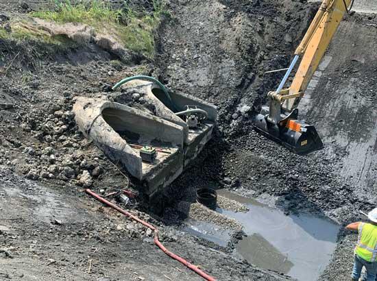 excavating-mi-water-drainage-system