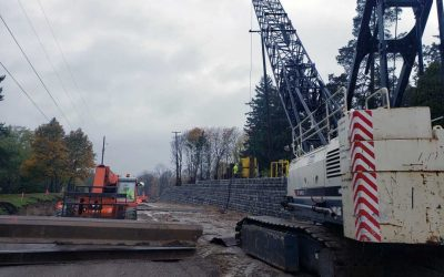 Road & Retaining Wall Construction